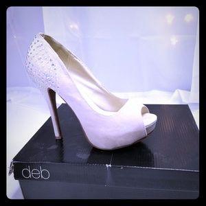 Deb Shoes - DEB peeptoe stiletto heels